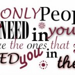 a few people needs you